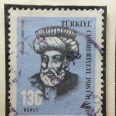 Sellos: TURQUIA, 105 KURUS, AÑO 1955, SIN USAR. Lote 176128208