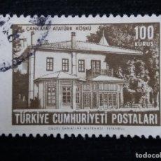 Sellos: TURQUIA, 100 KURUS, AÑO 1963, SIN USAR. Lote 176129689
