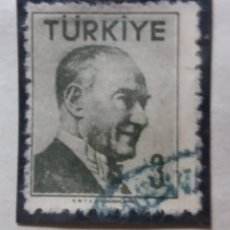 Sellos: TURQUIA, 3 KURUS, KAMAL ATATURK,, AÑO 1986, SIN USAR. Lote 176209677