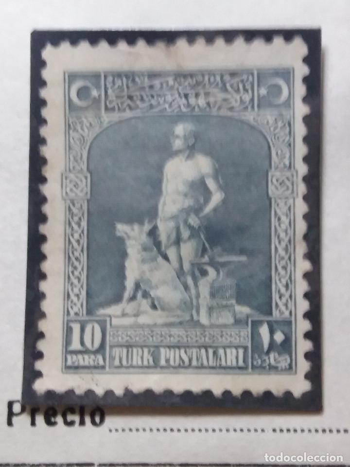 TURQUIA, 10 PARA, AÑO 1929, SIN USAR (Sellos - Extranjero - Europa - Turquía)