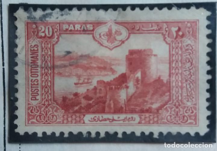 TURQUIA, 20 PARAS, AÑO 1914, SIN USAR (Sellos - Extranjero - Europa - Turquía)