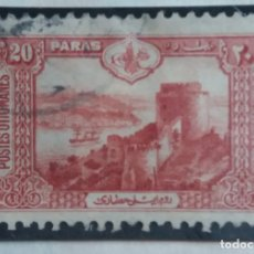 Sellos: TURQUIA, 20 PARAS, AÑO 1914, SIN USAR. Lote 176210307
