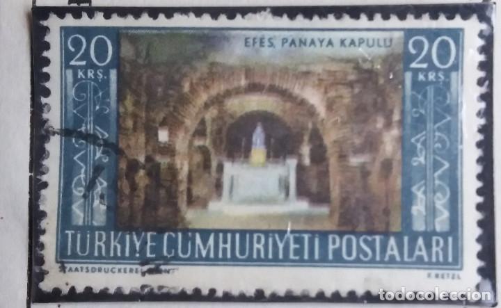 TURQUIA, 20 KURUS, AÑO 1950, SIN USAR (Sellos - Extranjero - Europa - Turquía)