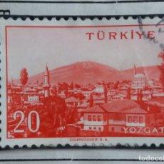 Sellos: TURQUIA, 20 KURUS, AÑO 1945, SIN USAR. Lote 176213487