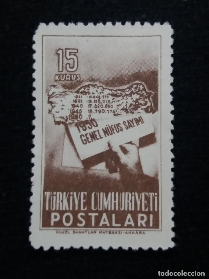 TURQUIA, 15 KURUS, AÑO 1956, SIN USAR (Sellos - Extranjero - Europa - Turquía)
