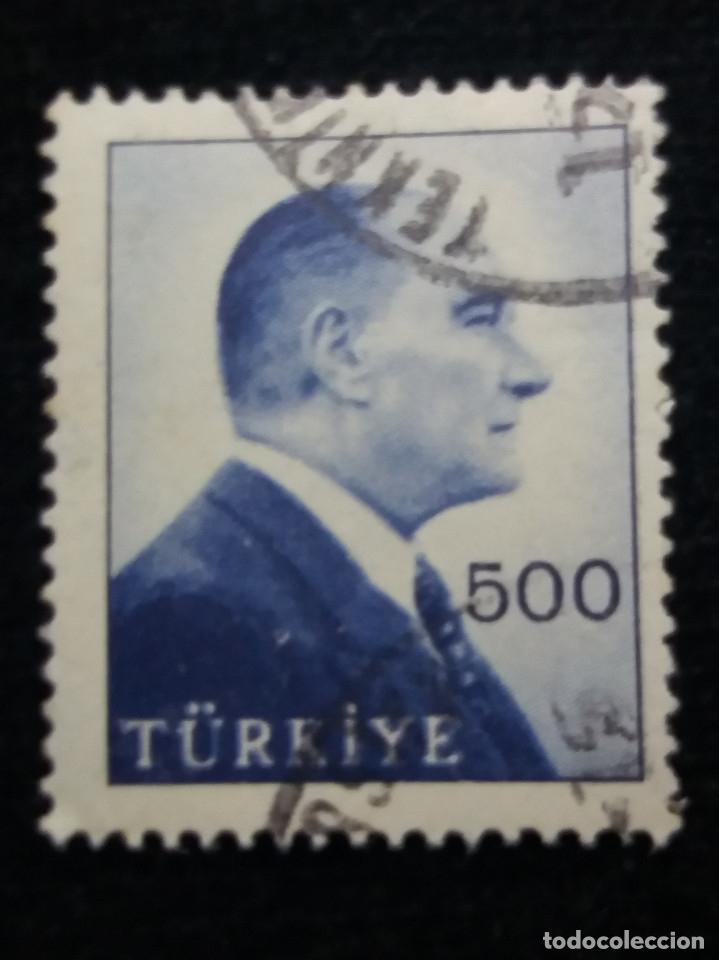 TURQUIA, 500 KURUS,KAMAL ATATURK, AÑO 1980, SIN USAR (Sellos - Extranjero - Europa - Turquía)