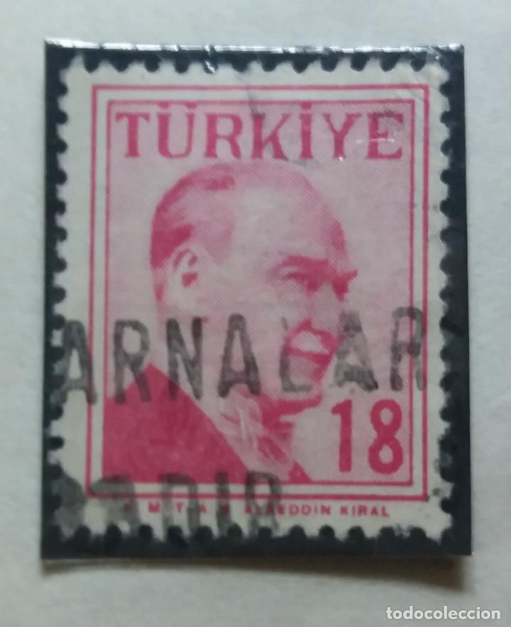 TURQUIA, 18 KURUS, KAMAL ATATURK, AÑO 1975, SIN USAR (Sellos - Extranjero - Europa - Turquía)