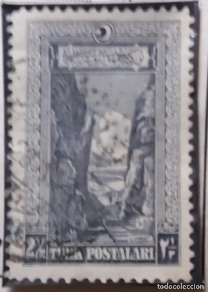 TURQUIA, 2,1/2 KURUS, AÑO 1950, SIN USAR (Sellos - Extranjero - Europa - Turquía)