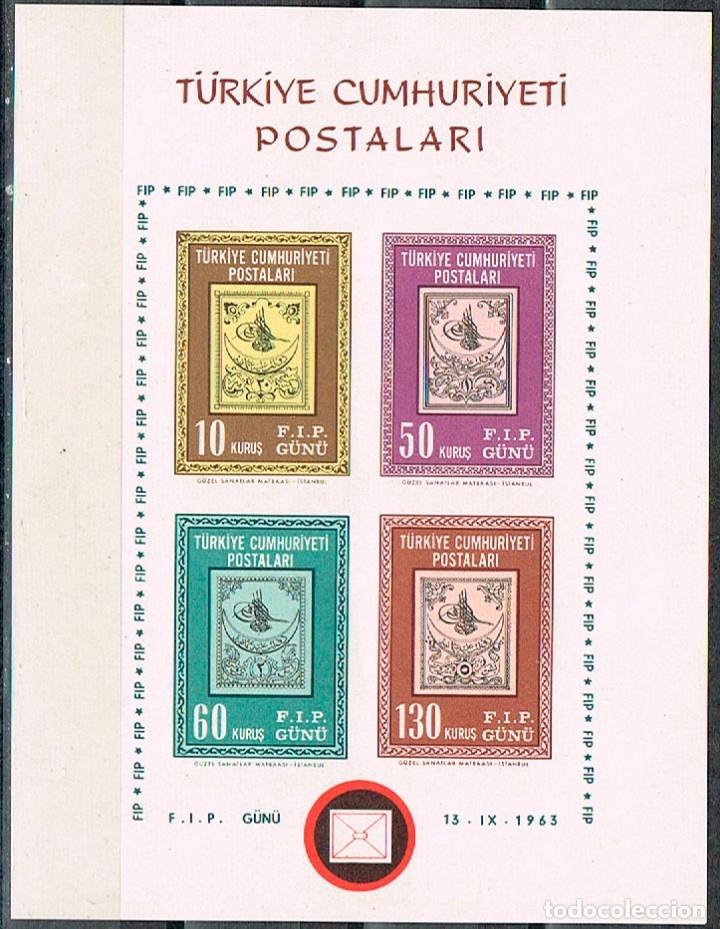 TURQUIA Nº 1920/3, NUEVO *** EN HOJA BLOQUE SIN DENTAR (Sellos - Extranjero - Europa - Turquía)