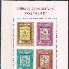 Sellos: TURQUIA Nº 1920/3, NUEVO *** EN HOJA BLOQUE SIN DENTAR. Lote 176584094