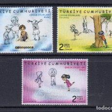 Sellos: TURQUIA 2019 JUEGOS INFANTILES. Lote 180492665