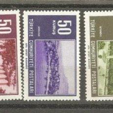 Sellos: TURQUIA,5 V.NUEVOS G.ORIG.SIN FIJASELLOS,. Lote 186433155