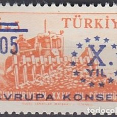 Sellos: LOTE SELLOS NUEVOS - TURQUIA - AHORRA GASTOS COMPRA MAS SELLOS. Lote 191740971