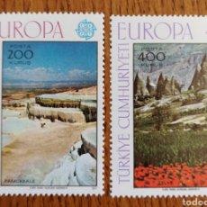 Sellos: TURQUIA TEMA EUROPA 1977 MNH (FOTOGRAFÍA REAL). Lote 220061700