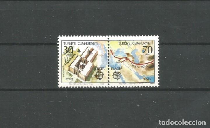TURQUÍA AÑO 1982 SELLOS DE HOJA BLOQUE. Nº 23 TEMA EUROPA.CATÁLOGO YVERT NUEVA (Sellos - Extranjero - Europa - Turquía)
