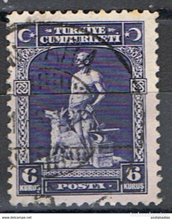 TURQUIA // YVERT 747 // 1929 ... USADO (Sellos - Extranjero - Europa - Turquía)