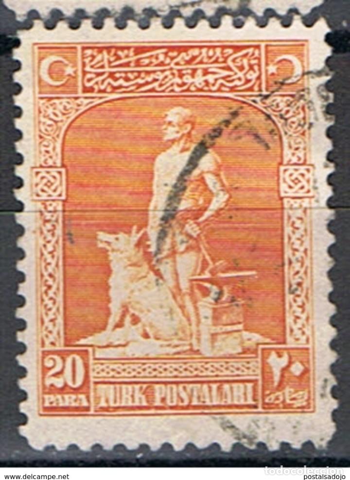 TURQUIA // YVERT 696 // 1926 ... USADO (Sellos - Extranjero - Europa - Turquía)