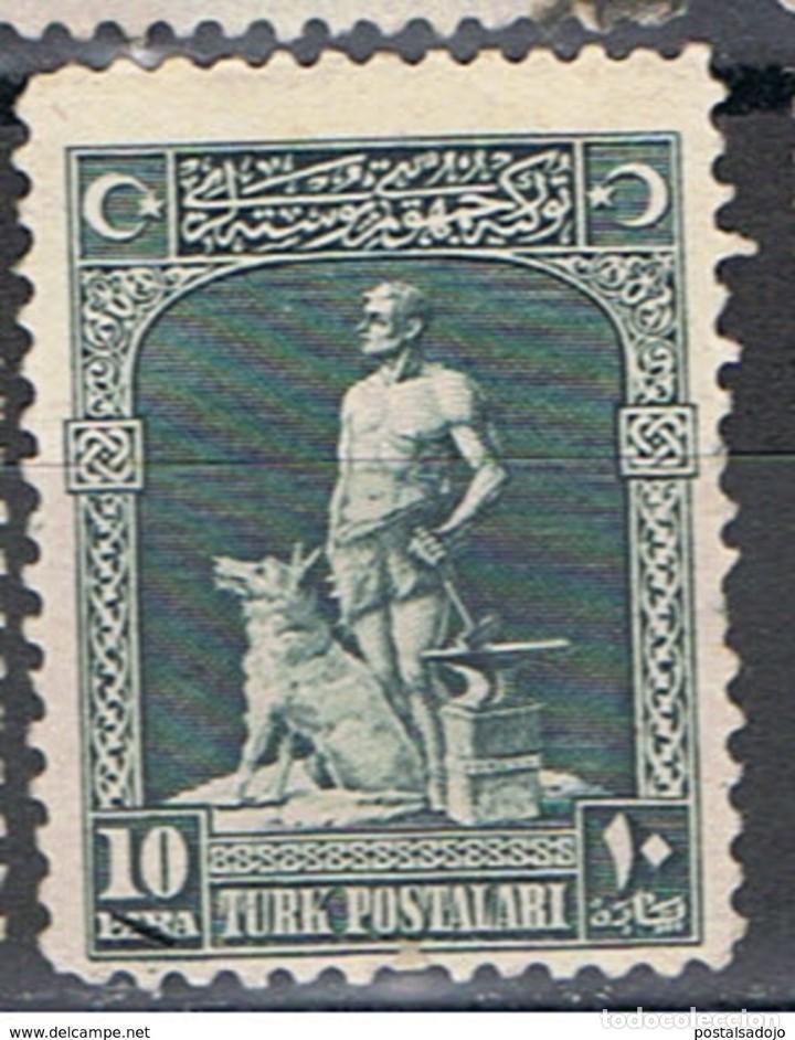 TURQUIA // YVERT 695 // 1926 ... USADO (Sellos - Extranjero - Europa - Turquía)