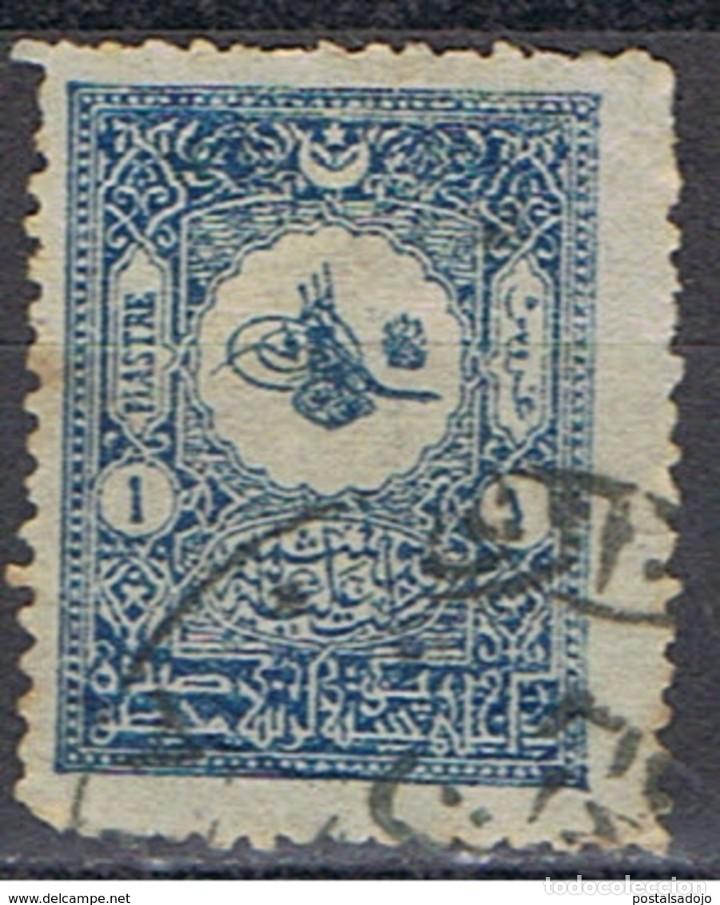 TURQUIA // YVERT 101 // DENT. 13 1/2 // 1901 ... USADO (Sellos - Extranjero - Europa - Turquía)