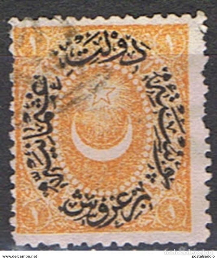 TURQUIA // YVERT 37 // DENT. 13 1/2 // 1876-32 ... USADO (Sellos - Extranjero - Europa - Turquía)