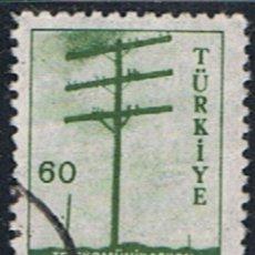 Sellos: TURQUIA // YVERT 1437 // 1959 ... USADO. Lote 217836950