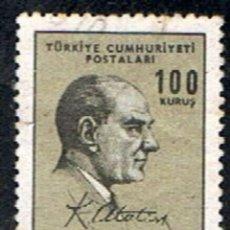 Sellos: TURQUIA // YVERT 1805 // 1966 ... USADO. Lote 218139072