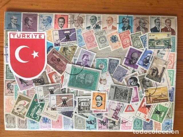 LOTE DE SELLOS DE TURQUIA (Sellos - Extranjero - Europa - Turquía)