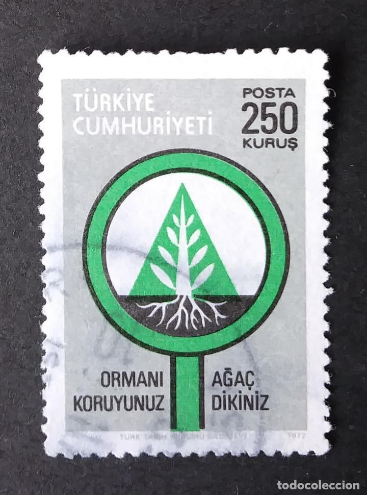 1977 TURQUÍA CONSERVACIÓN FORESTAL (Sellos - Extranjero - Europa - Turquía)
