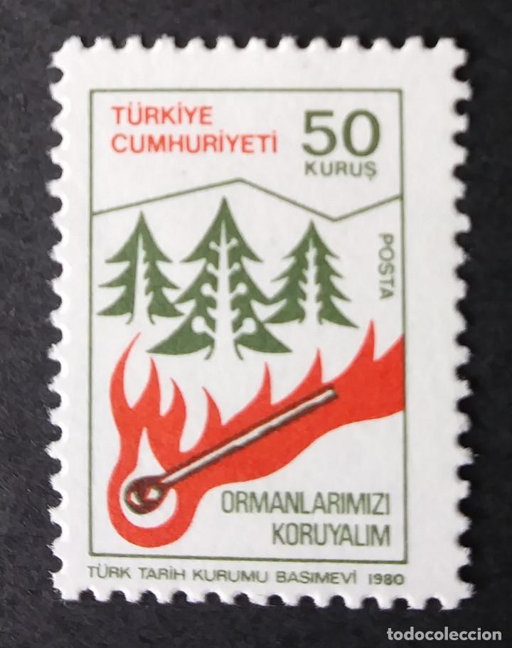 1980 TURQUÍA CONSERVACIÓN FORESTAL (Sellos - Extranjero - Europa - Turquía)