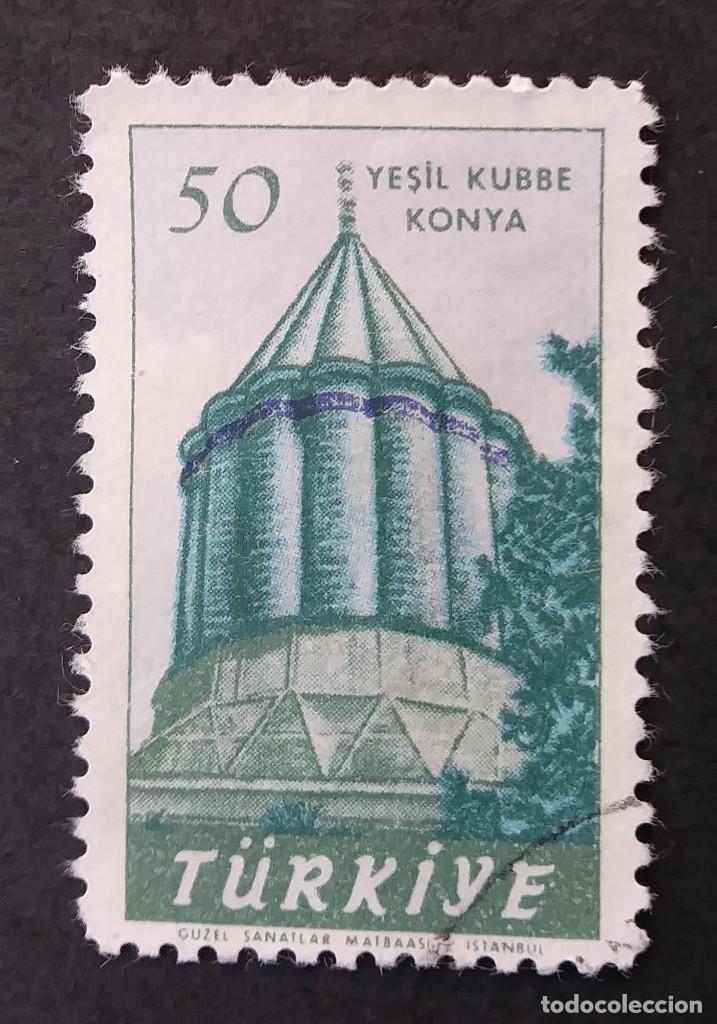1957 TURQUÍA 70 ANIVERSARIO DEL NACIMIENTO DE MEVLANA (Sellos - Extranjero - Europa - Turquía)
