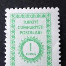 Sellos: SELLO OFICIAL 1965 TURQUÍA. Lote 222253166