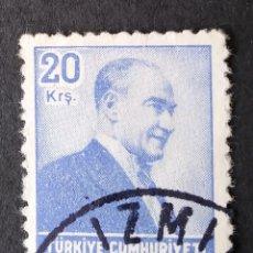 Sellos: 1955 TURQUÍA ATATURK. Lote 222372143