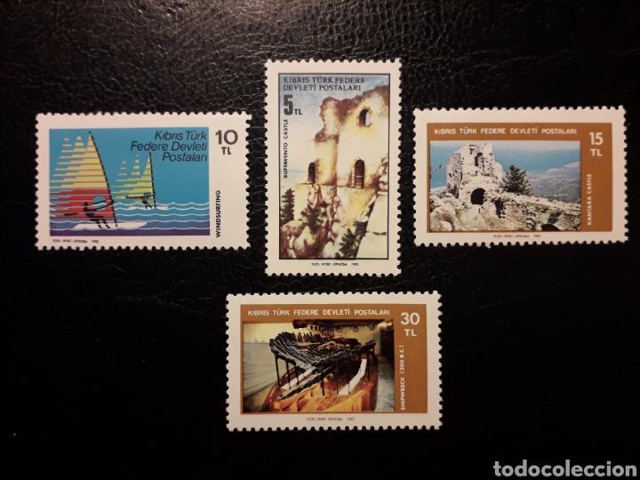CHIPRE TURCO (TURQUÍA) YVERT 103/6 SERIE COMPLETA NUEVA CON CHARNELA. 1982. TURISMO (Sellos - Extranjero - Europa - Turquía)