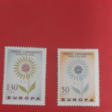 Sellos: SELLOS TURQUIA AÑO 1964 SERIE CEPT NUEVA. Lote 228135645