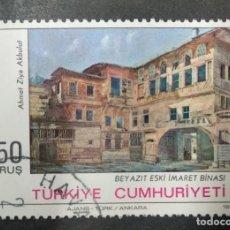 Sellos: TURQUIA 1973. PAINTINGS 2V. YT:TR 2052,. Lote 244904145