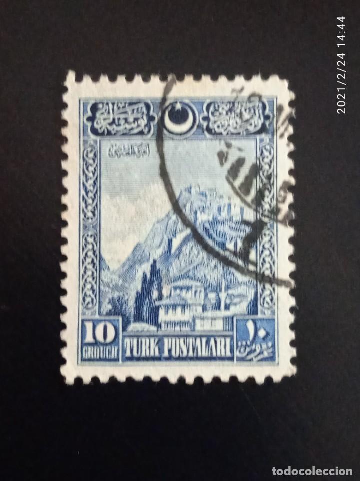 TURQUIA POSTALARI 10 GROUCH, AÑO 1926. (Sellos - Extranjero - Europa - Turquía)