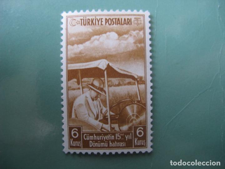 -TURQUIA, 1938, 15 ANIVERSARIO DE LA REPUBLICA, YVERT 896 (Sellos - Extranjero - Europa - Turquía)