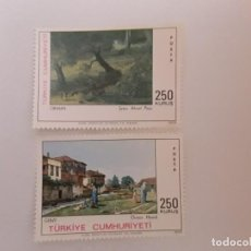 Timbres: TURQUIA SERIE NUEVA. Lote 246644195