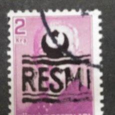 Francobolli: TURQUIA, 2 KURUS, RESMI,. Lote 247444100