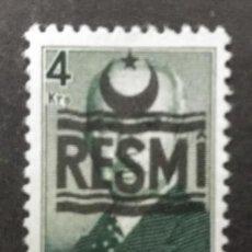 Francobolli: TURQUIA, 4 KURUS, RESMI,. Lote 247444315