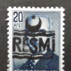 Francobolli: TURQUIA, 20 KURUS, RESMI,. Lote 247444665