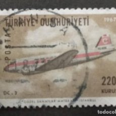 Timbres: TURQUIA, 1967. Lote 247594565