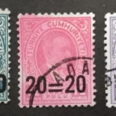 Timbres: TURQUIA,. Lote 247622275