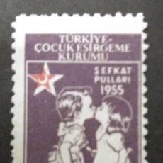 Francobolli: TURQUIA, 1955. Lote 247705735