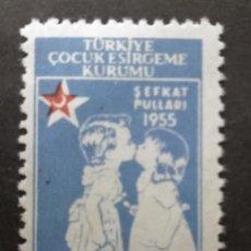 Francobolli: TURQUIA, 1955. Lote 247706045