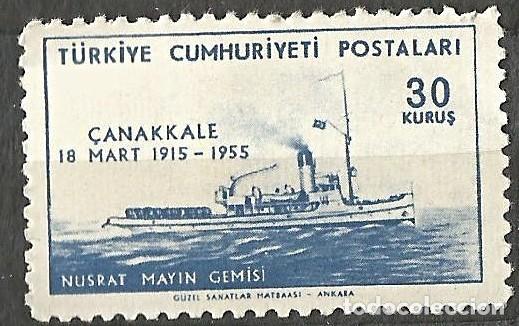 TURQUÍA 1955 - 1 SELLO NUEVO (Sellos - Extranjero - Europa - Turquía)