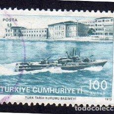 Sellos: EUROPA. TURQUÍA. 200 ANIVERSARIO DEL TURKISH NAVY. YT2062. Lote 260864935