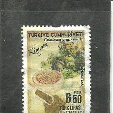 Francobolli: TURQUIA 2018 - YVERT NRO. 3891- USADO. Lote 268832704