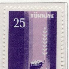 Sellos: TURQUIA, 1958 STAMP , MICHEL 1610. Lote 269600083