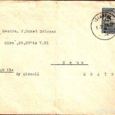 Sellos: CARTA CIRCULADA DE ISTANBUL A ESPAÑA EN 1953. Lote 277525903